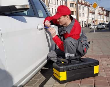 вскрытие машины в Видном